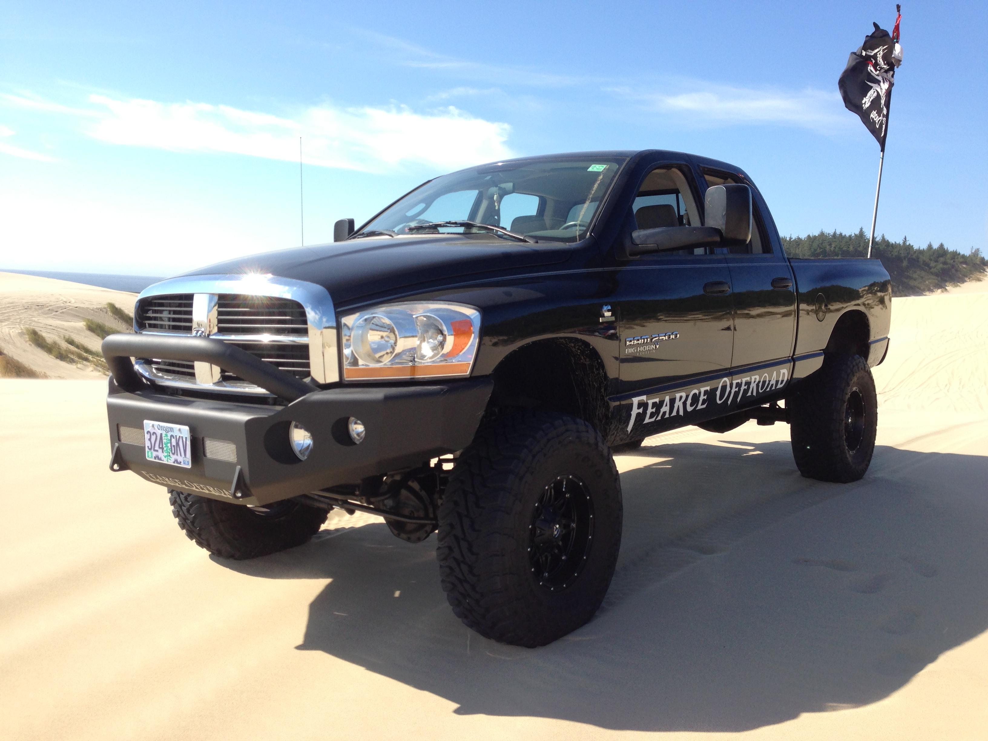 Fender Flares Dodge Ram 2500 >> Fearce Offroad-Custom Offroad Bumpers for Trucks