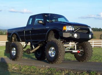 Lifted 2001 Ford Ranger Custom